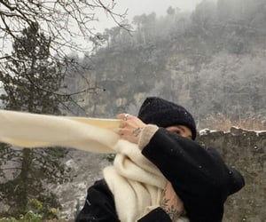 scarf and winter image