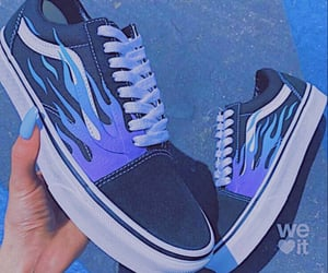 purple, black, and shoes image
