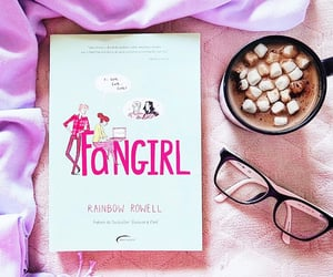 book, carry on, and fangirl image
