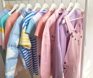 clothes, pastel, and aesthetic image