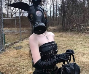 black, gothic, and aesthetic image