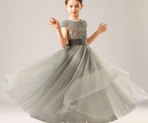 fashion, birthday dress, and little girl dress image