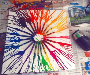 art, beautiful, and crayola image