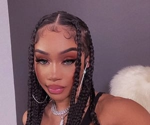 hair, saweetie, and girl image