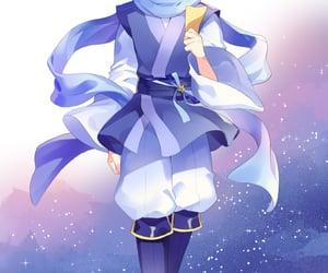 kaito, vocaloid, and holding item image