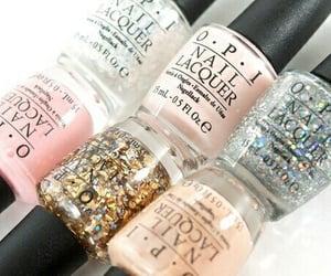 nails, opi, and pink image