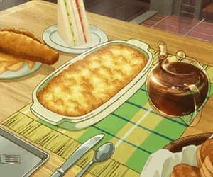 anime, food gif, and anime foods image