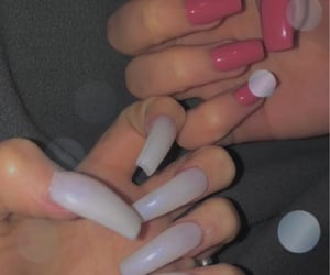 acrylic, acrylicnails, and cute image