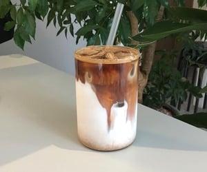coffee, drinks, and iced coffee image