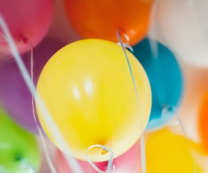 airy, balloon, and balloons image