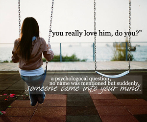 love, quote, and him image