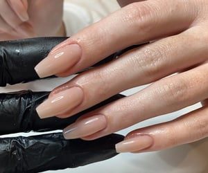 acrylics, care, and nails inspo image