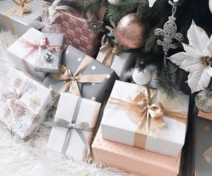 present, beautiful, and holiday image