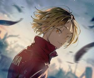 anime, hq, and bishounen image