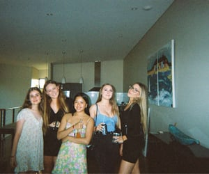 aesthetic, party, and teen image