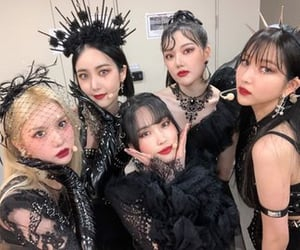 fashion, Witches, and gfriend image