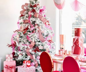 candy canes, gifts, and ornaments image