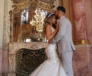 couple, dress, and forever image