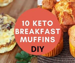 christmas, food, and muffins image