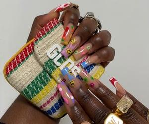 acrylics, nail art, and alternative image