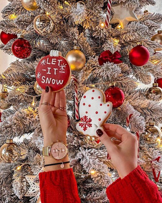 christmas, Christmas time, and Cookies image