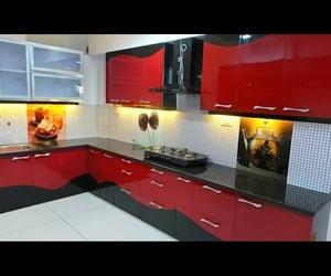 home decor, kitchen, and kitchen design image