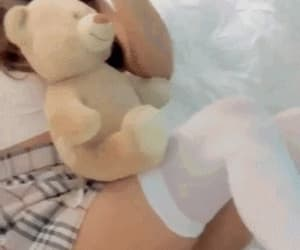 aesthetic, softcore, and teddy bear image