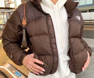 outfit, fashion, and brown image