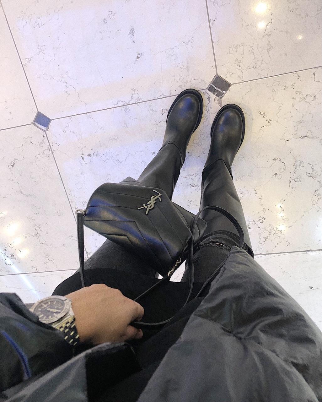 bag, YSL, and Zara image
