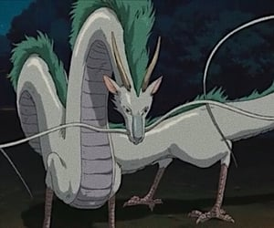 anime, dragon, and haku image