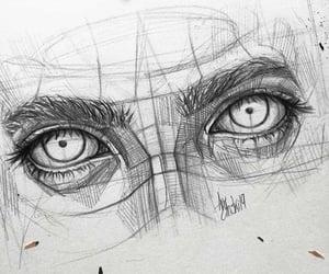 anatomy, art, and eyes image