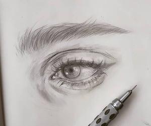 art, Easy, and eye image