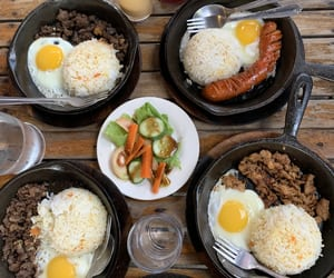 beef, breakfast, and delicious image