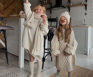 christmas, kids, and winter image