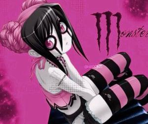 anime, emo, and monster image