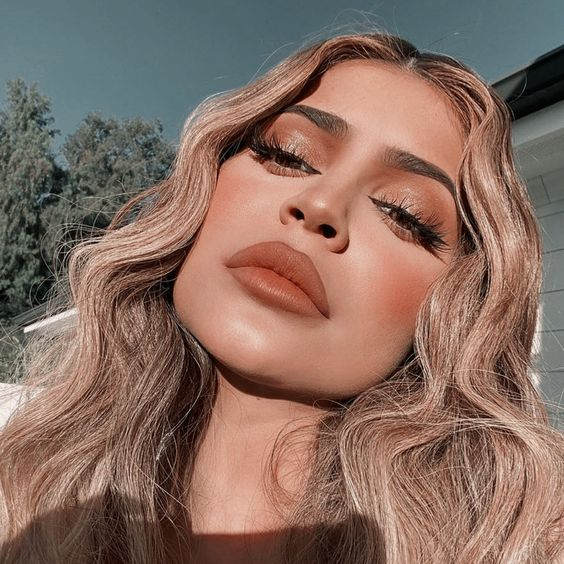 makeup, kylie jenner, and kylie jenner style image
