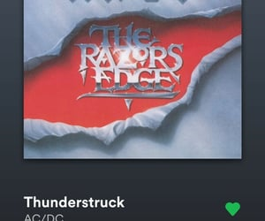 ACDC, playlist, and thunderstruck image
