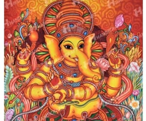 antiques, lord ganesh, and paintings image