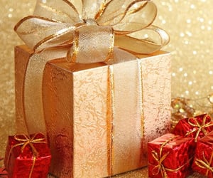 christmas, glitter, and festive image