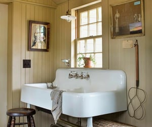country living, decor, and bathroom image
