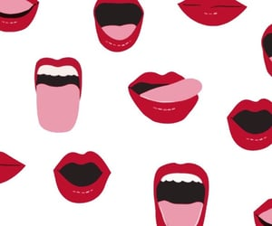 lips and wallpaper image