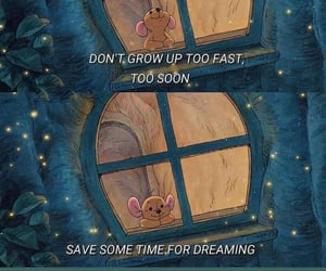 Dream, words, and grow up image