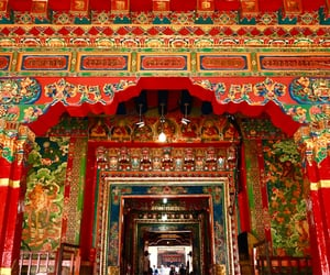 architecture, china, and tibet image
