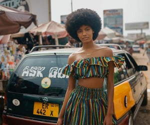 africa, afros, and beauty image