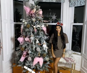 beauty, chic, and christmas image