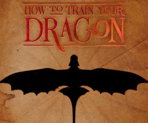 aesthetic, Logo, and how to train your dragon image