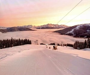 adventure, Skiing, and travelling image