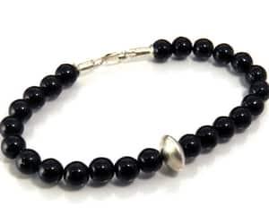 etsy, stone jewelry, and onyx jewelry image
