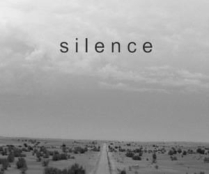 silence, road, and black and white image