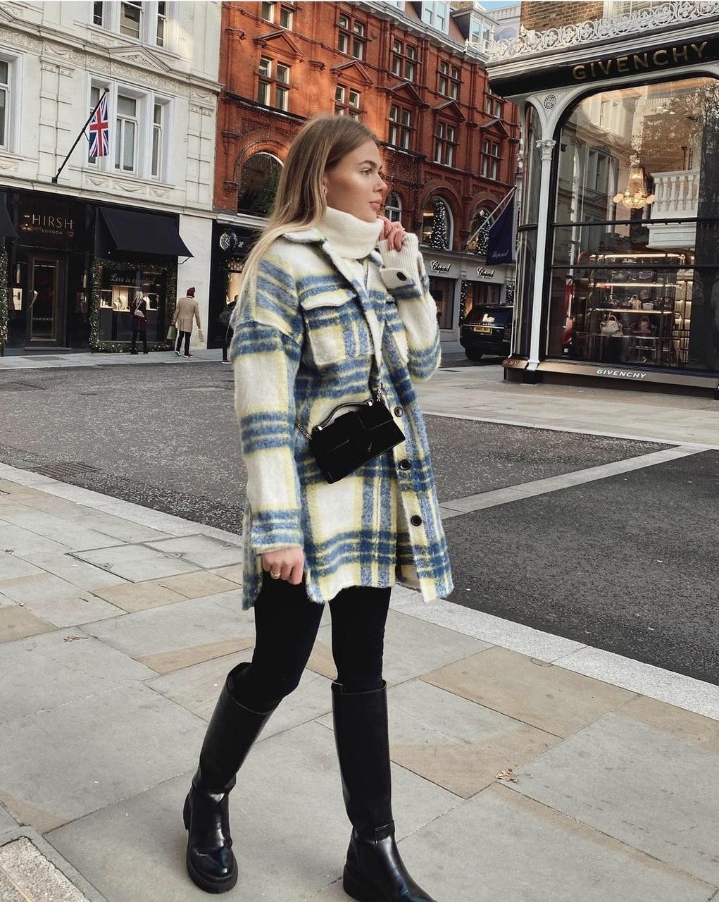 bag, coat, and look image